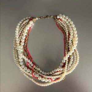 Jewelry - Multi-Layered Pearl Necklace